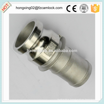 Camlock type E stainless steel 316, cam lock fitting, quick coupling