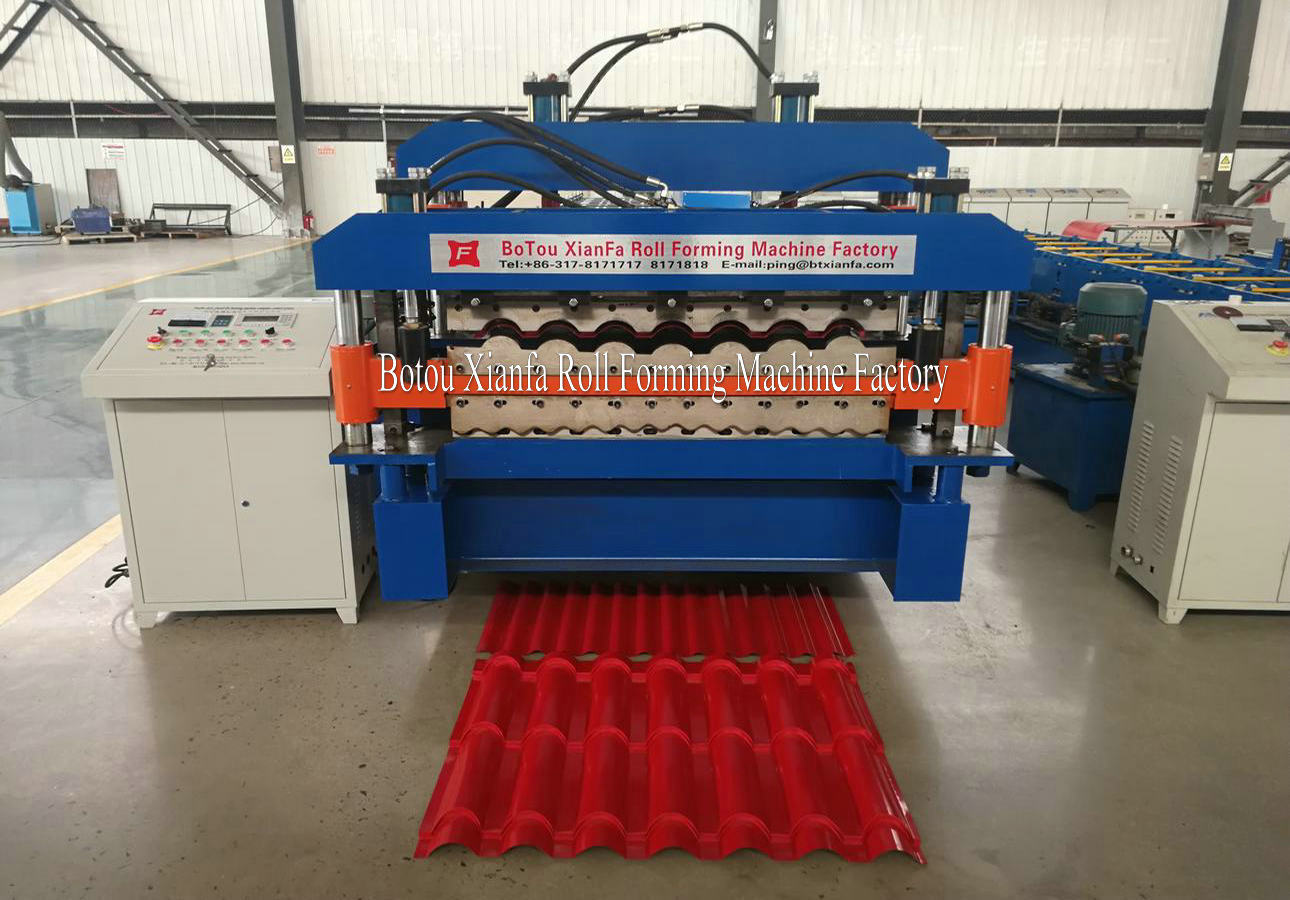 glazed tile machines