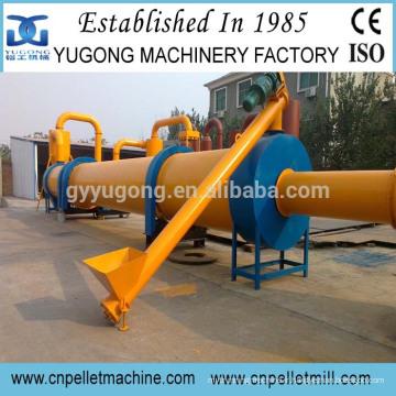 Séchoir rotatif à bois Yugong approuvé CE avec performance durable
