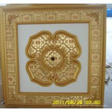 Burgund & Gilt Bracade Dekorative Künstlerische Decke Dl-1114-12