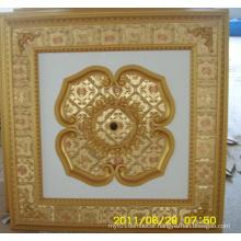 Burgundy&Gilt Bracade Decorative Artistic Ceiling Dl-1114-12