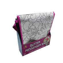 reciclado haga su propio bolso de lona del colorante del mensajero