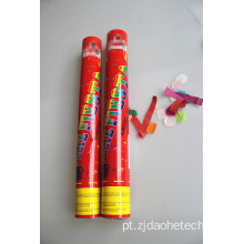 Red Wrapper Colorful Paper Party Popper