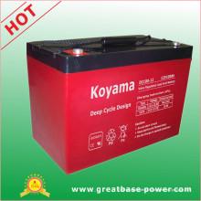Batterie marine profonde de stockage de batterie de chariot de golf de batterie de cycle de Koyama