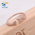 Best gift silver jewelry twelve constellations Scorpio luck ring for girlfriend