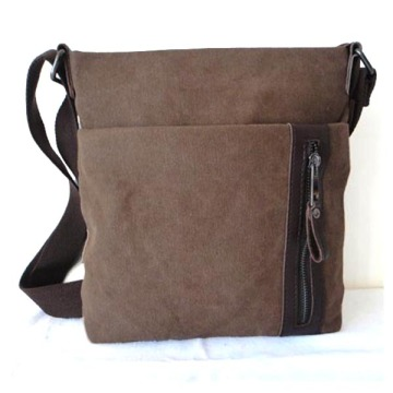 Vintage Leisure Leather Mix Canvas Traveller bags