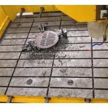 Máquina perforadora de placas tipo pórtico