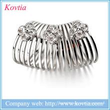 Korean rhinestone brooch christmas fashion jewelery from china imitations Scarf clips