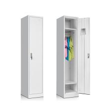 Customized 1 Door Single Wardrobe on Sale / Steel Locker Single Wardrobe