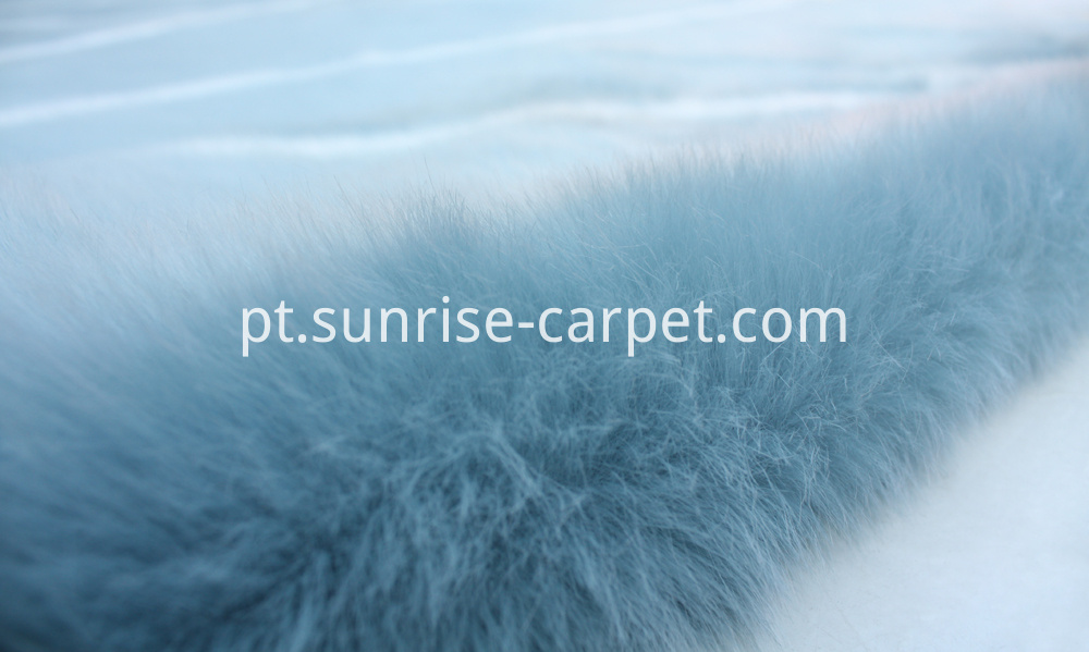 Plush Fur with Design