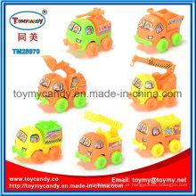 Mini pull back veículo de engenharia de brinquedo com 7 estilos