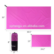 lightweight microfiber travel towel