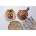 Melamina de madeira como placa / placa de bambu / placa de jantar (nk13811-14)