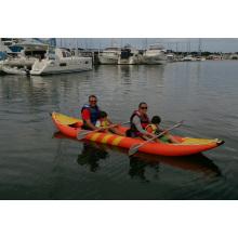 Doppelsitziges aufblasbares Kajak-Fischerboot