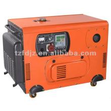 Generador diesel silencioso de la pequeña potencia 8KW