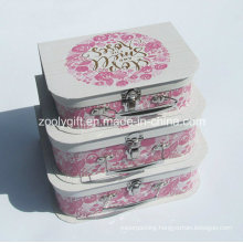 Custom High Quality Fancy Cardboard Paper Suitcase / Wholesale Paper Suitcase Gift Packaging Box