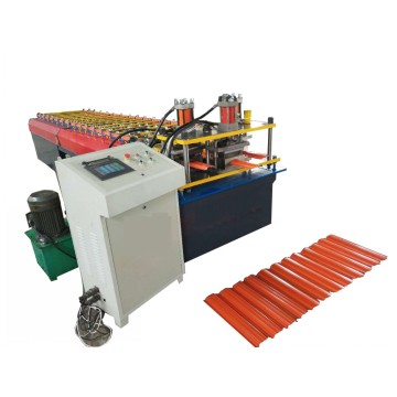 Colored Steel Fence Roll Forming Machine