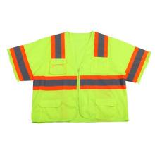 Camisa reflectante de seguridad de alta visibilidad con mangas (DFJ015)