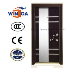 Villa Buidling MDF Steel Wood Armored Door for Turkey (W-T02)