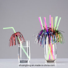 Decoration Straw Palm Tree Fireworks Styles Creative Drinking Straw Pipe Fashion Fit Party Bar