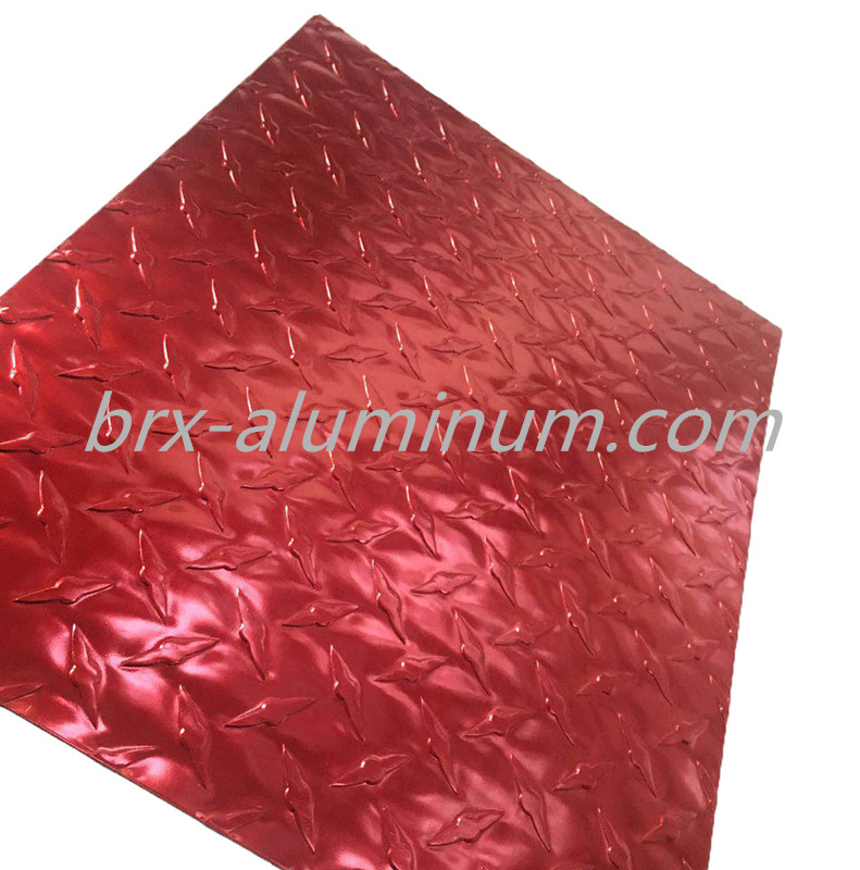 Aluminum sheet with Anodic Oxidation