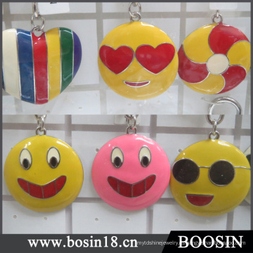 Metal Charm China Wholesale Emoji Jewelry Set # 15773