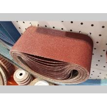 Courroie abrasive abrasive pour le meulage d'acier inoxydable