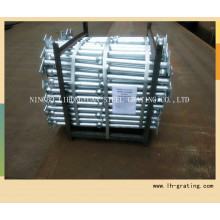 Steel Stanchion with Galvanizing Finish