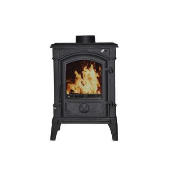 Matt Black Wood Burning Heater