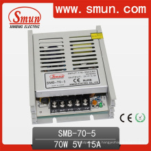 Caja plástica de la fuente de alimentación de la transferencia de 70W 5V 14A ultra-fina