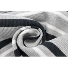 Tissu en tricot côtelé 1x1 pour hauts de robe