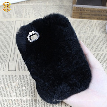 Factory Supply Luxury Fur Mobile Phone Case For Iphone