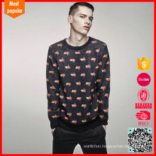 100%wool mens knitted latest sweater designs for men