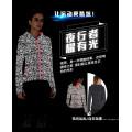 kundenspezifischer radierender reflektierender Jackendesign für Wintermänner Jacke