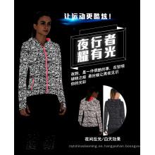 nuevos productos en China market dongguan chaqueta reflectante de plata para hombres