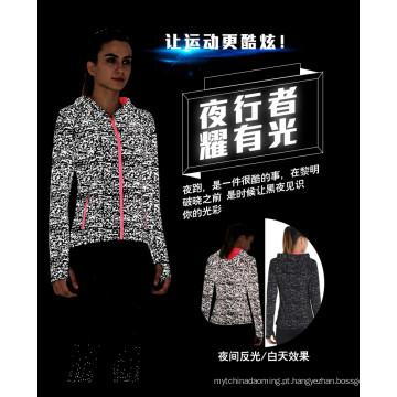 novos produtos no mercado de China dongguan jaqueta reflexiva de prata para homens