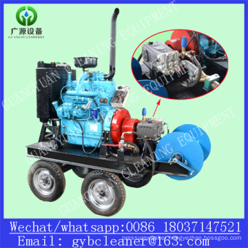 Drain Tube Cleaning Machine Diesel Engine