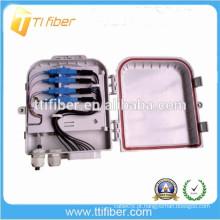8Port FTTH caixa de distribuição de fibra óptica