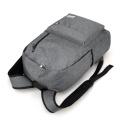 Estudantes do campus de esportes ao ar livre usb carregamento laptop mochila