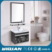 Armoires à miroir moulés en miroir à armoire en acier inoxydable bon marché