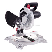 1400W Aluminium Base Wood Cutting Machine Electric Power 210mm Miter Saw GW8006