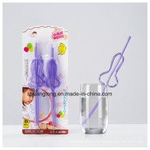 Material para animales de compañía Hard Multi-Shaped Crazy Straw