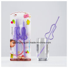 Matériau animal domestique Multi-Shaped Crazy Straw