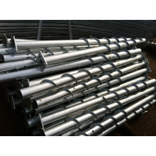 Hot DIP Galvanized Steel Ground Anchor, Ground Screw
