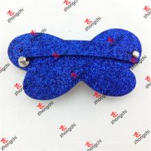 Kinderhaar Accessoires Leder Haarspange Pin für Mädchen Geschenke (HCP50827)