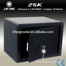 Günstige mechanische zwei Schlüsselsicherheit Tresor digital Metall Tresor Box Geld sicher zum Verkauf