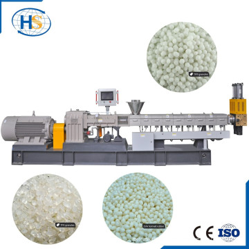 Electric Wire HDPE Recycling Extruder Line for Granulating