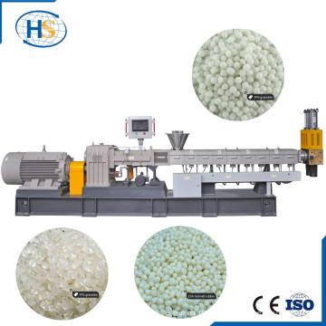 Extrusão em duas etapas da fibra de vidro que peletiza para o Masterbatch de enchimento