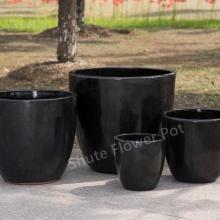Дешевые красочные 4 размера цветочные горшки садовые горшки