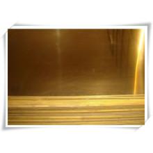 Полужесткий латунный лист C27400 / латунная пластина
